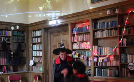 Halloween Library
